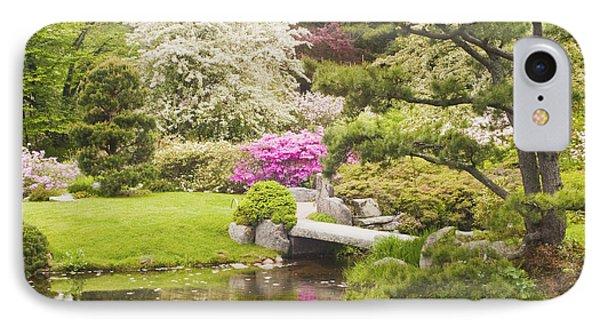 Asticou Azelea Garden - Northeast Harbor - Mount Desert Island - Maine IPhone Case