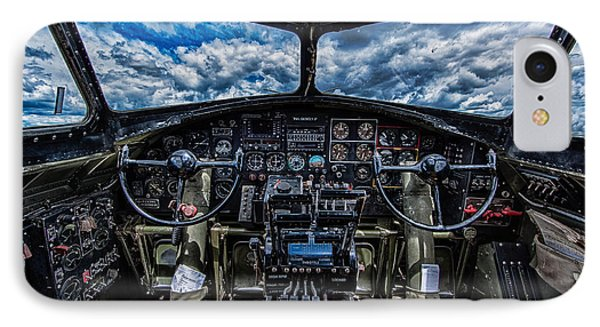 B-17 Cockpit IPhone Case