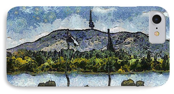 Black Mountain View IPhone Case