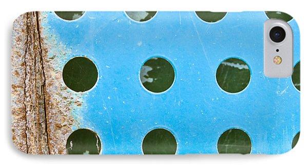 Blue Metal IPhone Case