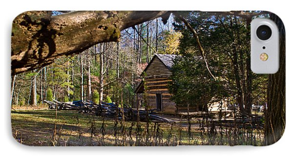Cades Cove Cabin  IPhone Case