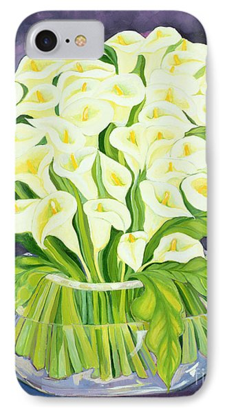 Lily iPhone 8 Case - Calla Lilies by Laila Shawa