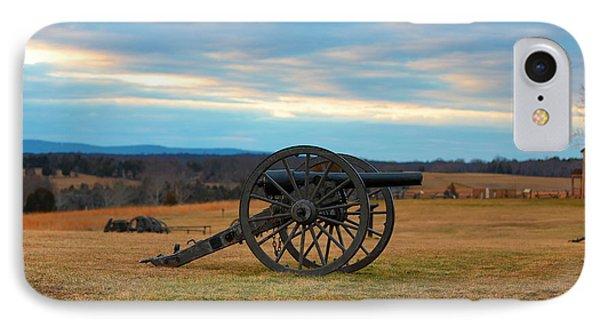 Cannons Of Manassas Battlefield IPhone Case