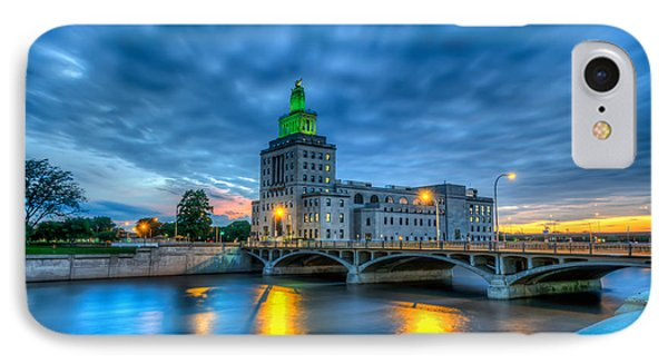 Cedar Rapids Mays Island At Sunset IPhone Case