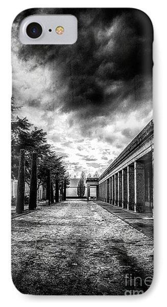 Cemetery Of Mantova  IPhone Case
