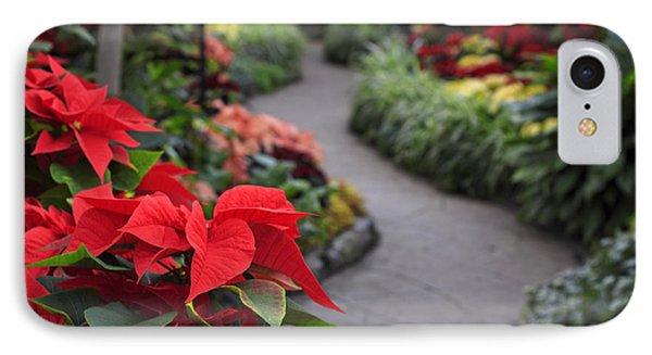 Christmas Garden IPhone Case