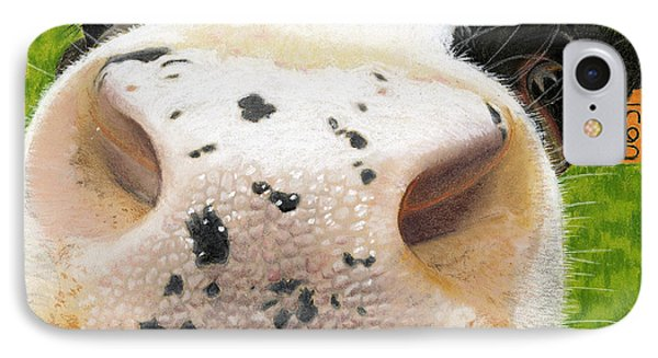 Cow No. 0651 IPhone Case