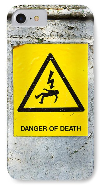 Danger Of Death IPhone Case