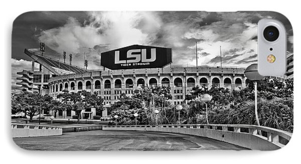 Death Valley - Hdr Bw IPhone Case
