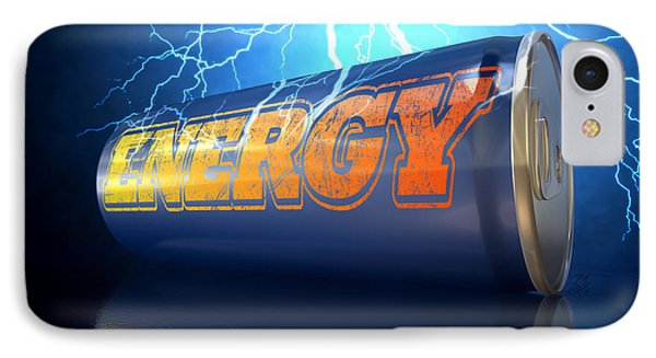 Energy Drink Can IPhone Case