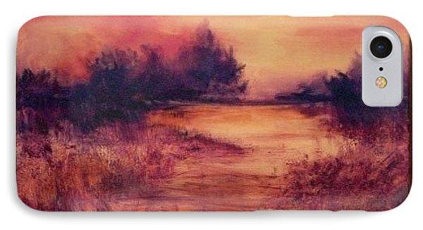 Evening Amber IPhone Case