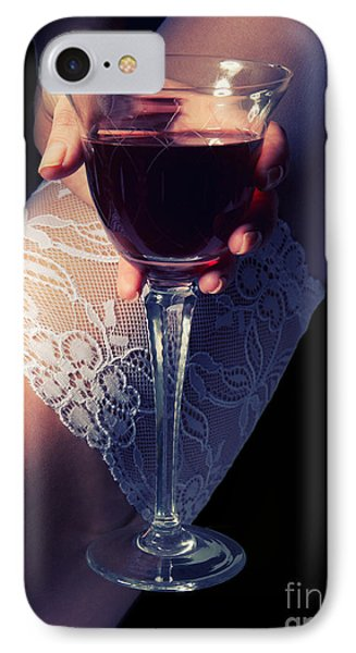 Feet With Wine IPhone Case