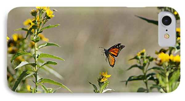 Flight Of The Monarch IPhone Case