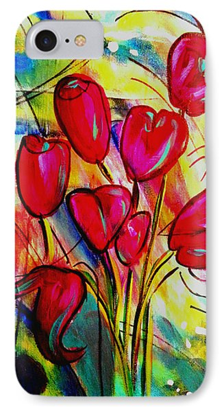 Flowers For M IPhone Case