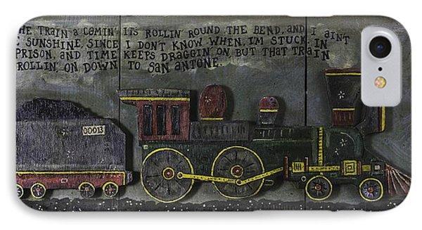 Folsom Prison Train IPhone Case
