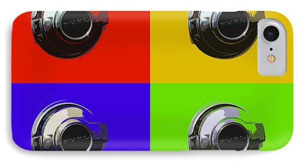 Fuel Cap In Bold Color IPhone Case