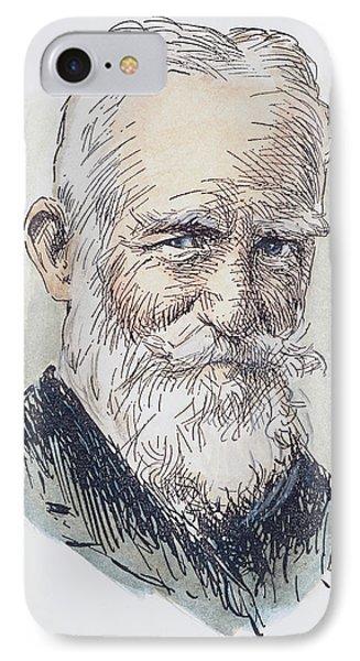 George Bernard Shaw (1856-1950) IPhone Case