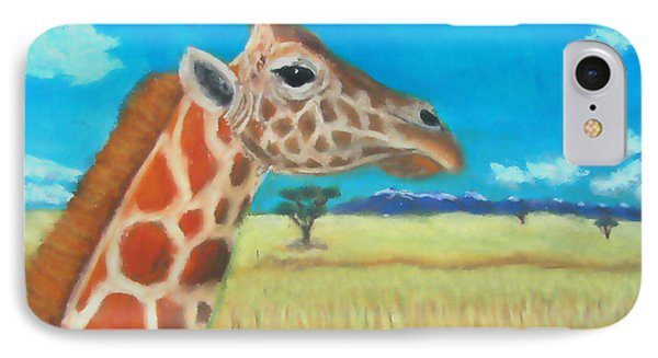 Giraffe Dreaming IPhone Case