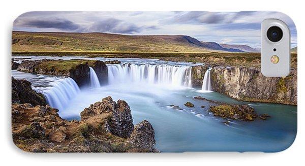 Godafoss Waterfall IPhone Case