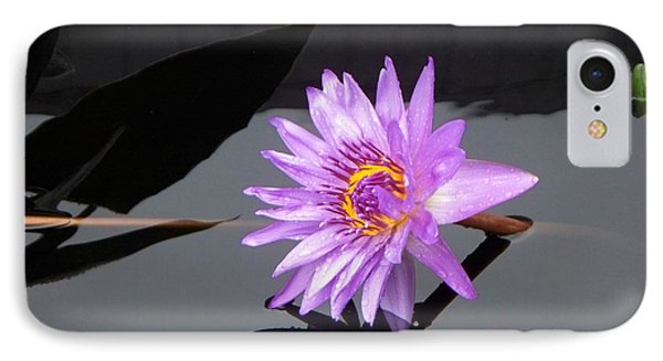 Lavender Lily IPhone Case