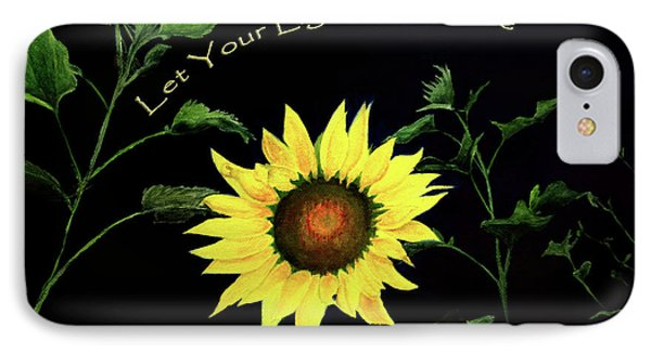 Let Your Light So Shine IPhone Case