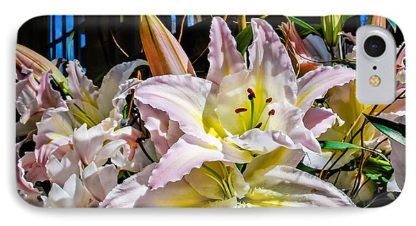 Lilies Out Of The Shadows IPhone Case