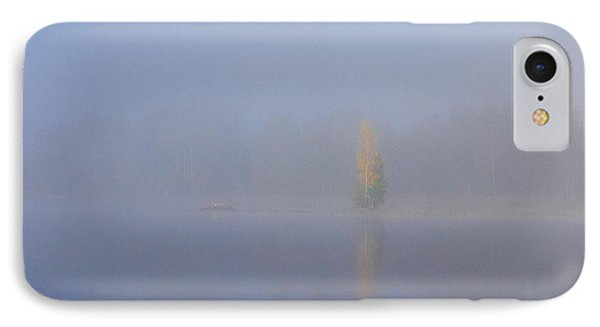 Misty Morning On A Lake IPhone Case