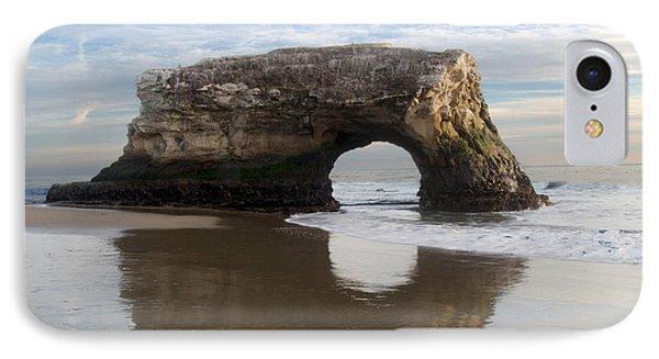 Monolith Natural Bridges State Beach IPhone Case