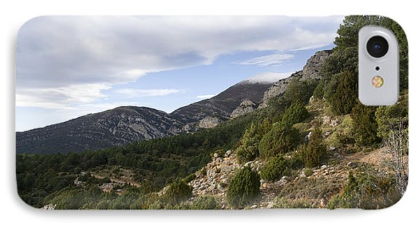 Mountain Landscape In Huesca IPhone Case