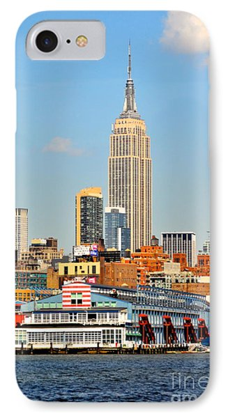 New York City Skyline With Empire State IPhone Case