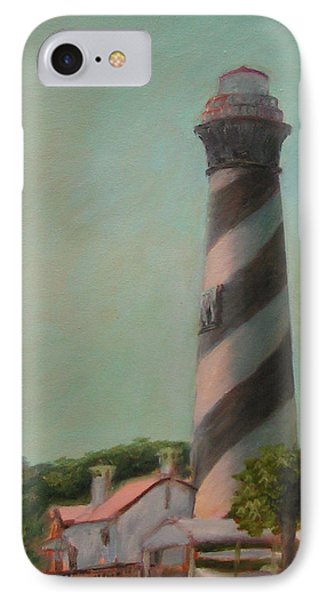 One Day At The St. Augustine Lighthouse IPhone Case