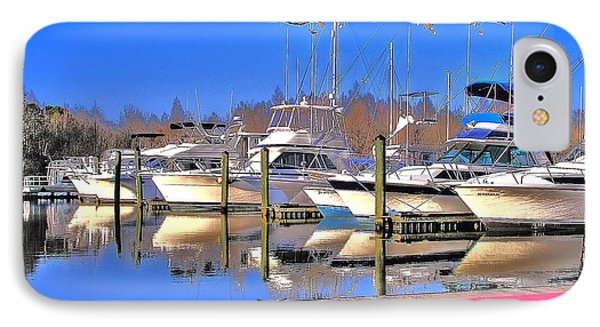 Peaceful Marina IPhone Case