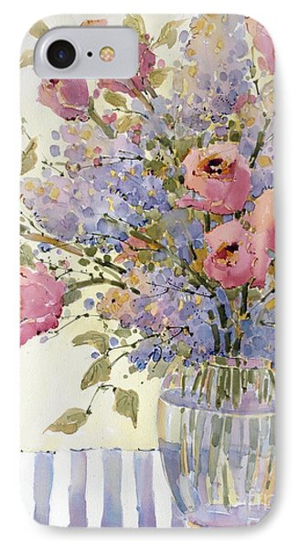 Pink Roses And Lilacs IPhone Case
