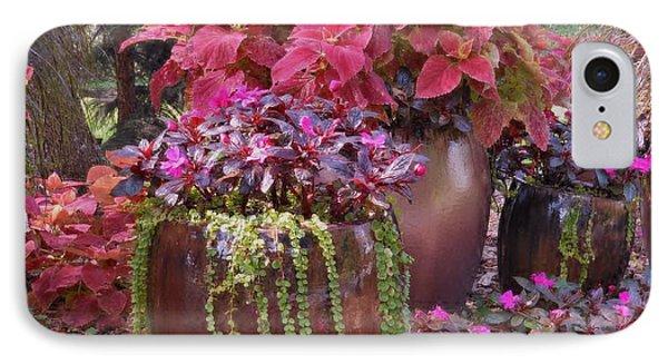Pots Of Flowers IPhone Case