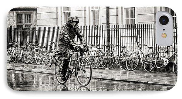 Rainy Day Ride IPhone Case