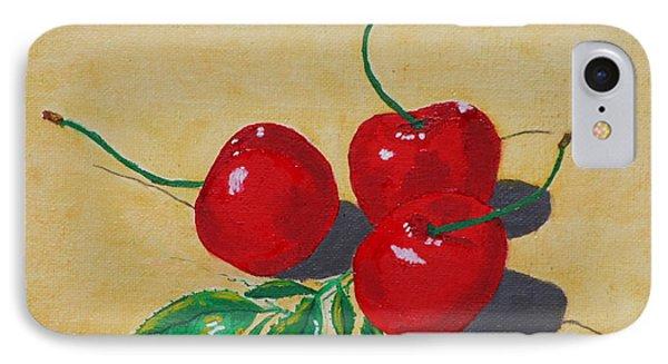 Red Cherries IPhone Case