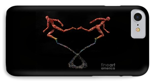 Red Shift A Science Sculpture By Adam Long IPhone Case