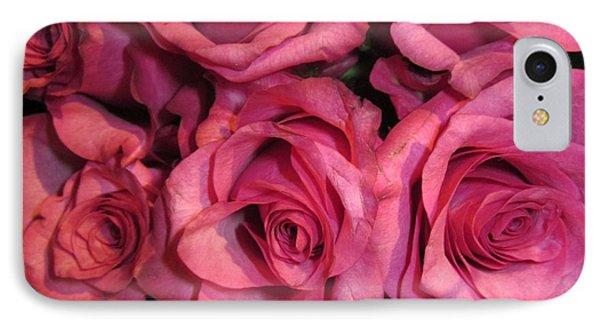 Rosebouquet In Pink IPhone Case