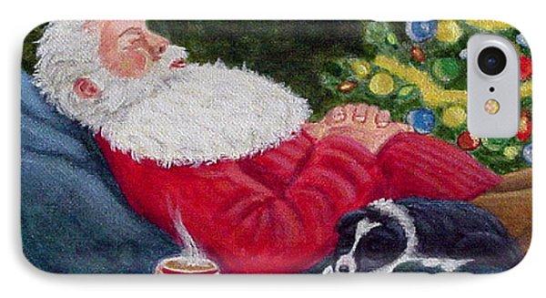 Santa And Breagh IPhone Case