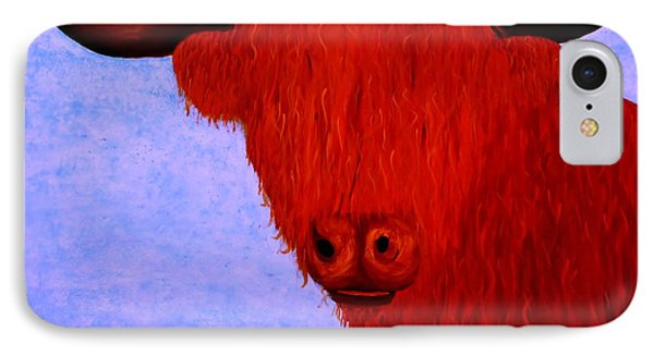 Scottish Highlands Cow IPhone Case