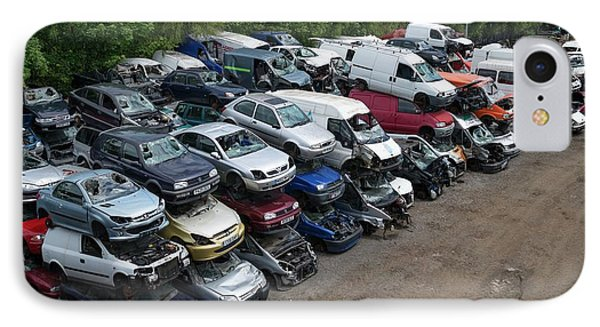 Scrap Cars IPhone Case