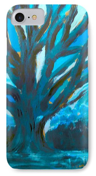 The Blue Tree IPhone Case