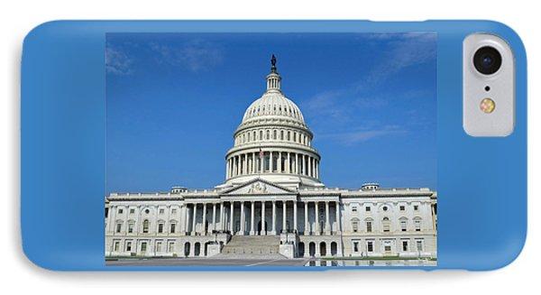 Us Capitol Building IPhone Case