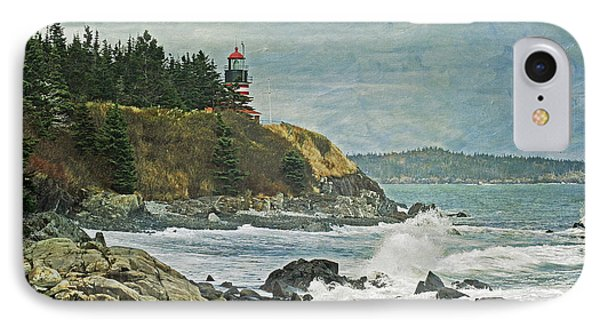 West Quoddy Head Lighthouse IPhone Case