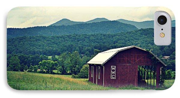 Western North Carolina Farm IPhone Case