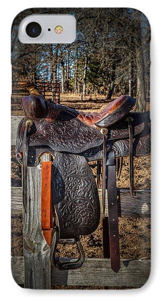 Western Saddle IPhone Case
