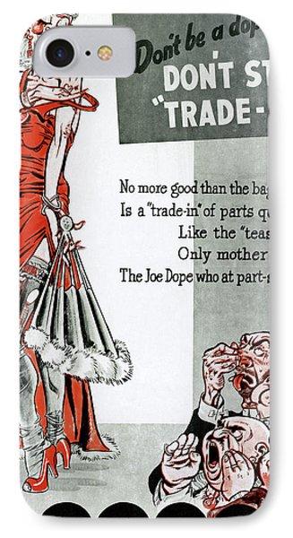 World War II Poster, 1945 IPhone Case
