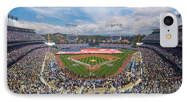 2013 Los Angeles Dodgers Season Opener IPhone Case
