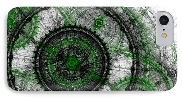 Abstract Mechanical Fractal IPhone Case