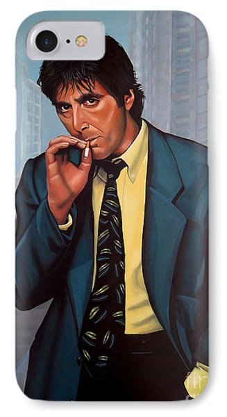 Portraits iPhone 8 Case - Al Pacino 2 by Paul Meijering